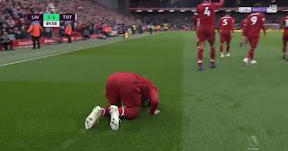 فيديو : صلاح المنقذ يتسبب فى فوز ليفربول  على توتنهام ويستعيد الصدارة