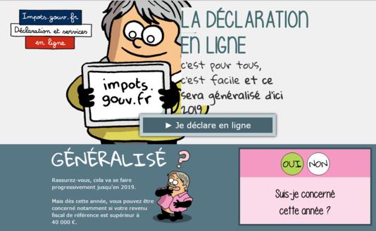 Notre Dame D Oe Impots Vers L Obligation De Declaration Sur Internet