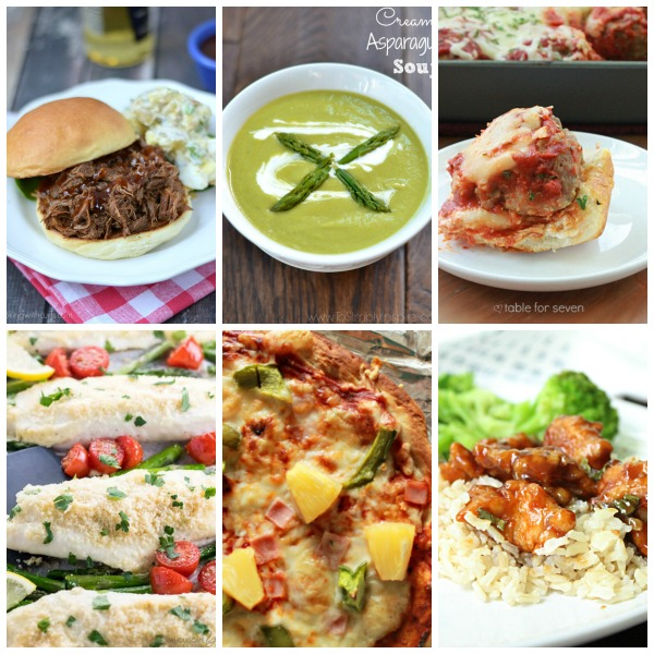 Weekly Meal Plan #49 from Table for Seven