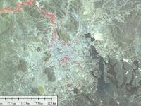 Satelit LAPAN Ungkap Tanda Kiamat di Madinah, Arab Saudi