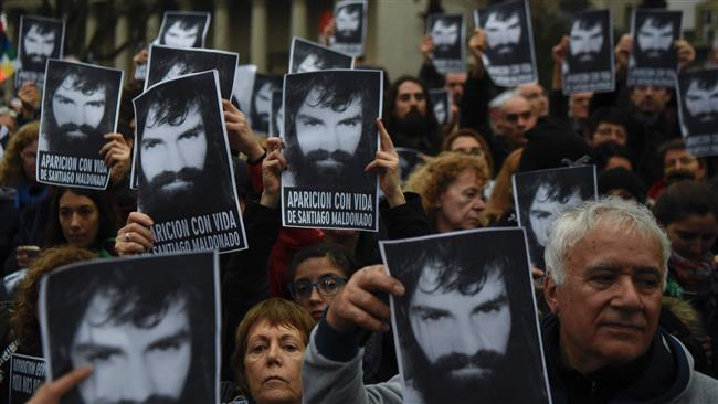 Argentina protesters stage rally against police brutality