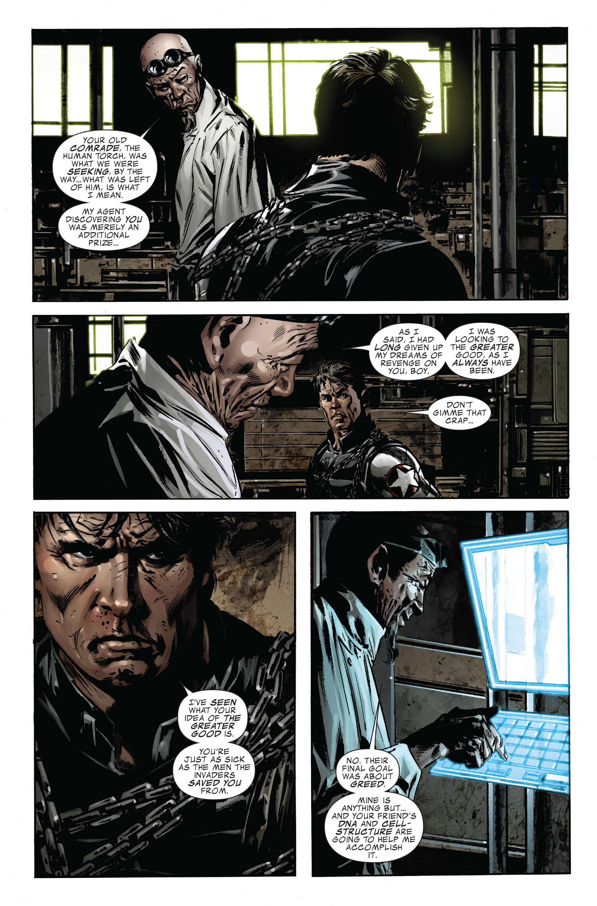 Read online Captain America (2005) comic -  Issue #47 - 19