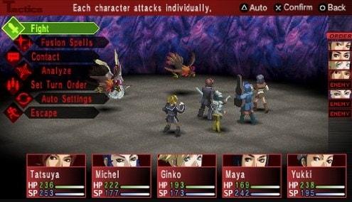 Persona 2: Eternal Punishment PSP ISO Screenshots #1