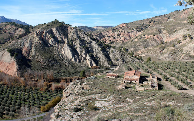 Paisajes de la comarca de Guadix.