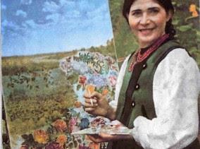Pablo Picasso a fost încântat de lucrări ucrainene pictoriței Ecaterina Bilokur
