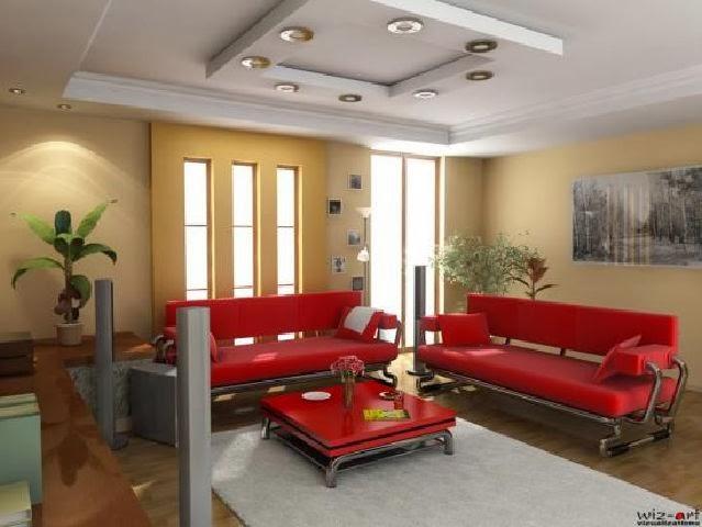 Contoh Gambar Desain Ruang Tamu Minimalis
