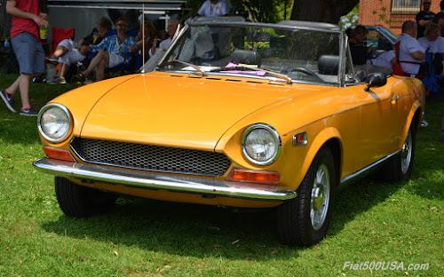 Classic Fiat 124 Spider