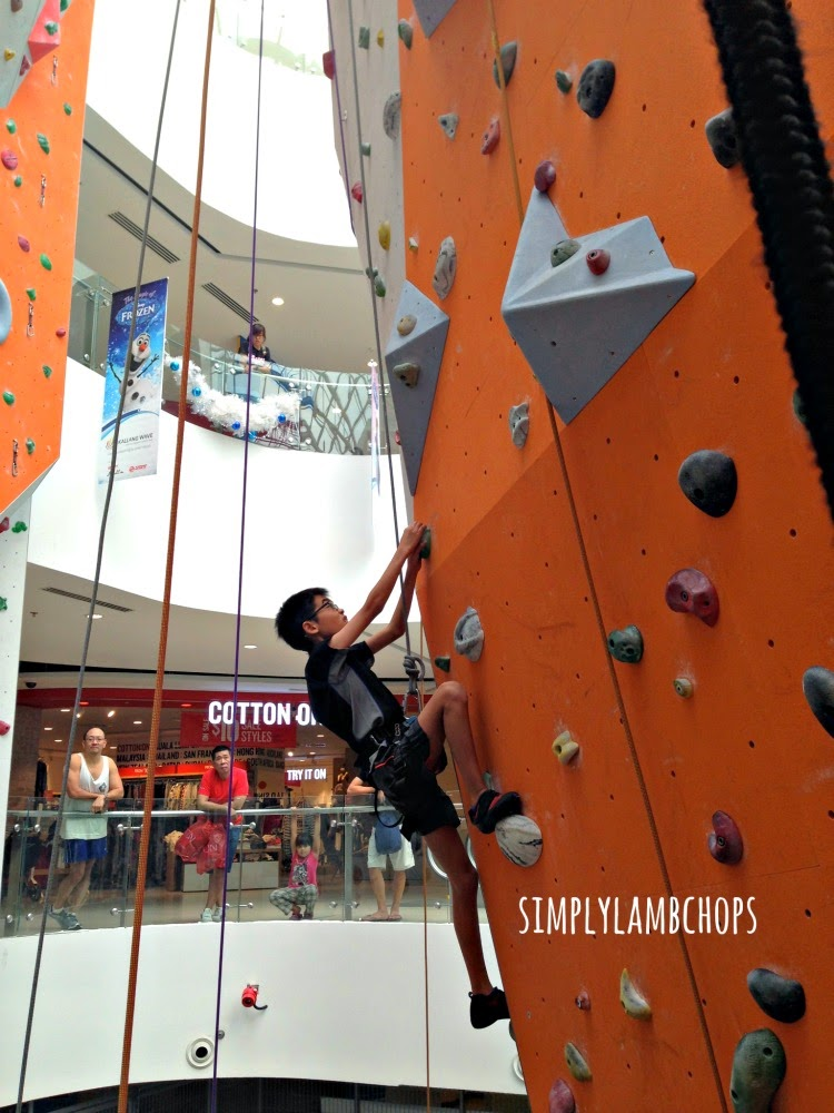 Simply Lambchops reviews Climb Central at Kallang Wave Mall