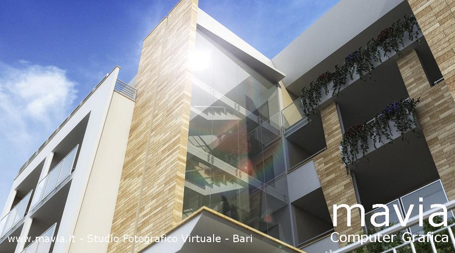 Esterni 3d rendering 3d architettura 3d rendering for Programma di architettura