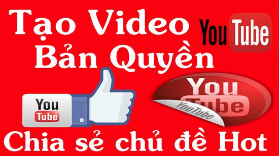 Cách đăng ký bản quyền Video trên Youtube đối với các Video do chính bạn sản xuất