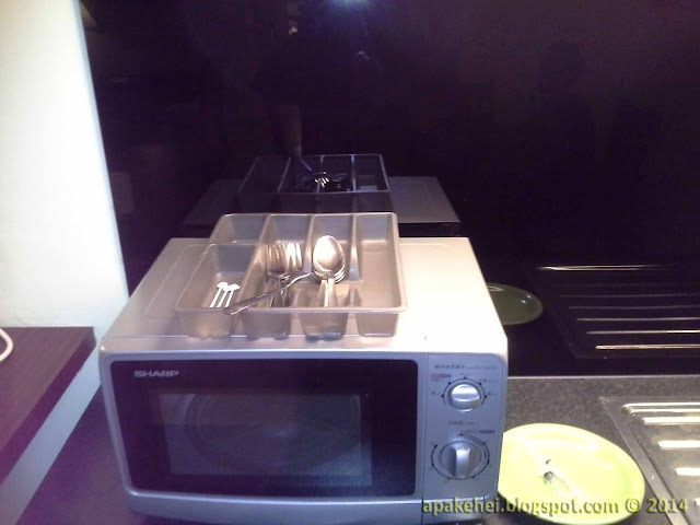 Lotus Desaru Resort and Spa - Microwave Oven