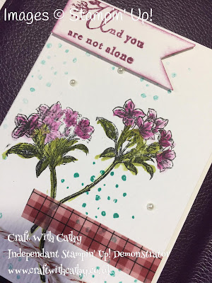 Avant Garden Heartfelt Sympathy Watercolour Pencils Card