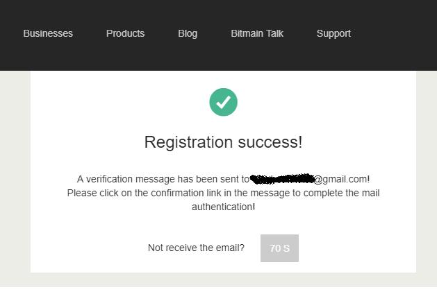 Đăng ký tài khoản Bitmain