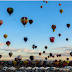 More Than 700 Hot Air Balloons Are Launched Over Nine Days At The International Balloon Fiesta.