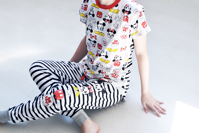 Primark shoplog 2015 by belgian fashion blogger. Primark hasselt, Disney, pajams, pj, mickey mouse, minimal, striped, black and white, under wear, sleepwear, nightwear, June, inspiration