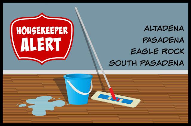 Housekeeper Alert Eagle Rock California