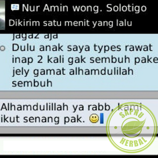 Testimoni Obat Tipes Herbal QnC Jelly Gamat