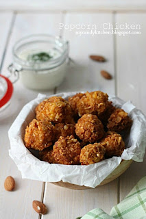Хрупкави пилешки пуканки