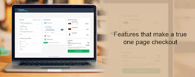 Features that make a true one page checkout