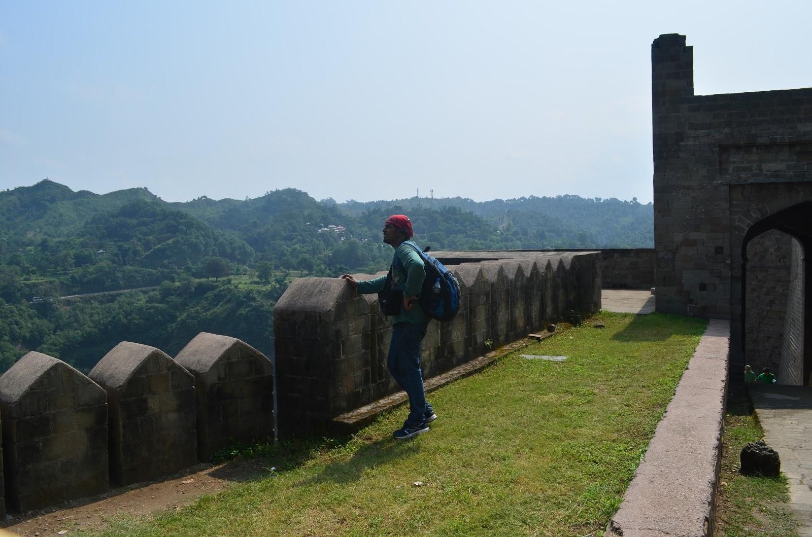 Atishay @ Kangra Fort, Kangra