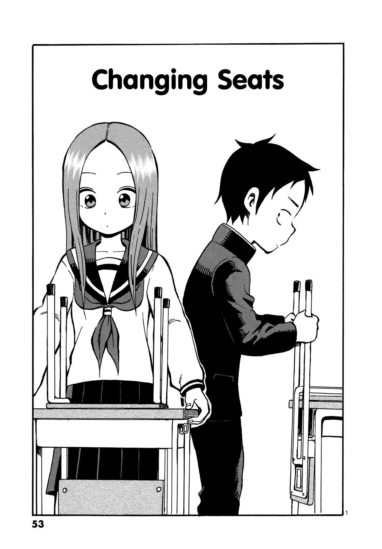 Karakai Jouzu no Takagi-san - Chapter 27