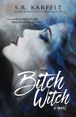 Author S.R. Karfelt, Bitch Witch, Kahtar