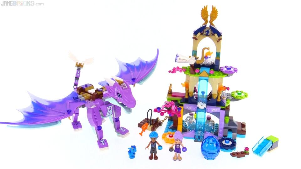 LEGO Elves Dragon Sanctuary review! 41178