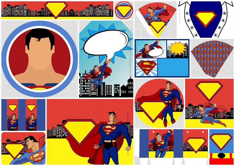 Superman Comic: Free Printable Kit. - Oh My Fiesta! for Geeks