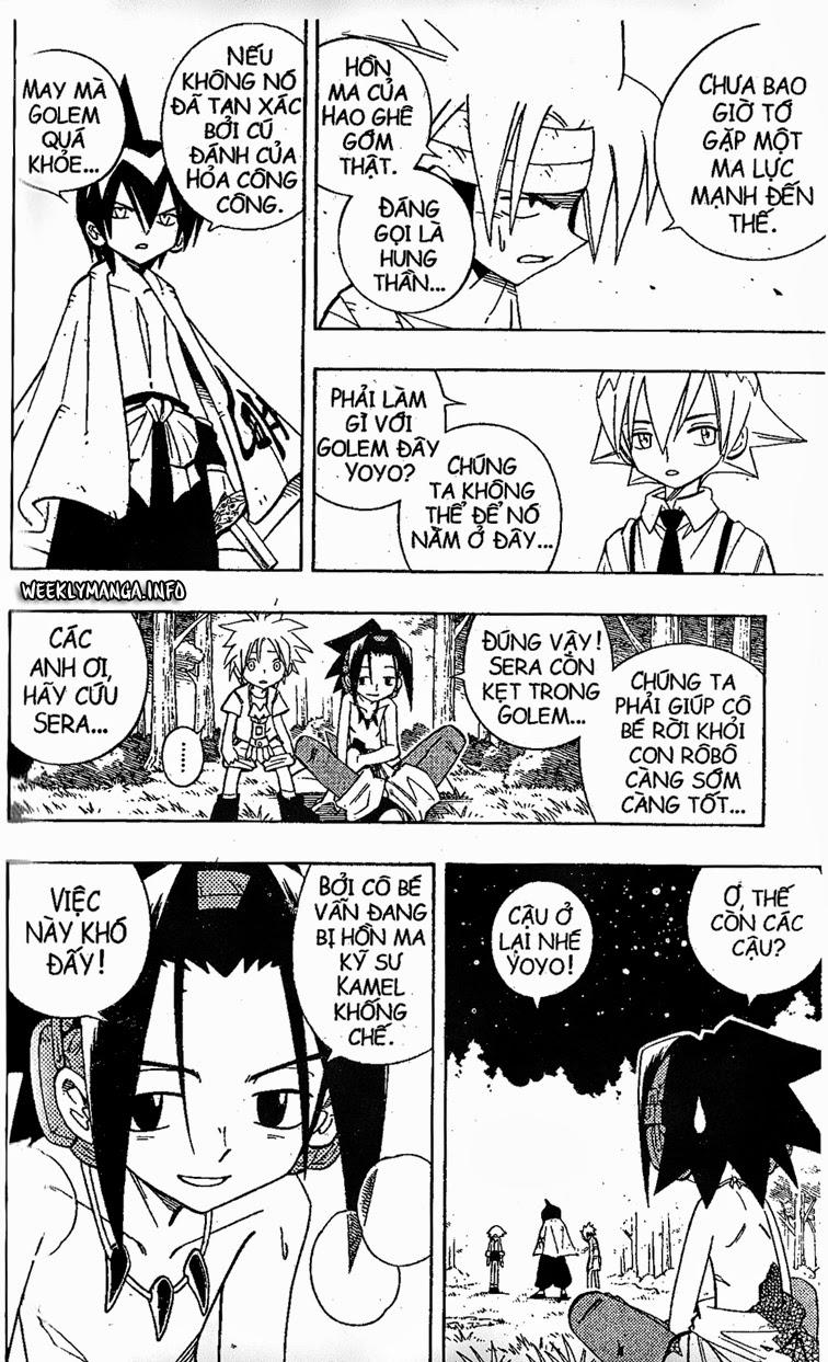 Shaman King [Vua pháp thuật] chap 199 trang 7
