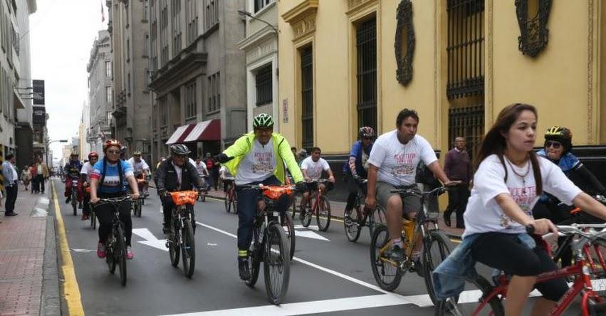 Hoy domingo se realiza Gran Bicicleteada por el XIII aniversario de Educación Básica Alternativa