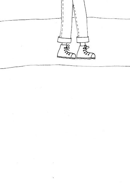 Vorlage für die Zeichnung unter meinen Füßen