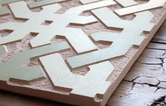 Surface Fragments How To Make A Sgraffito Concrete Tile