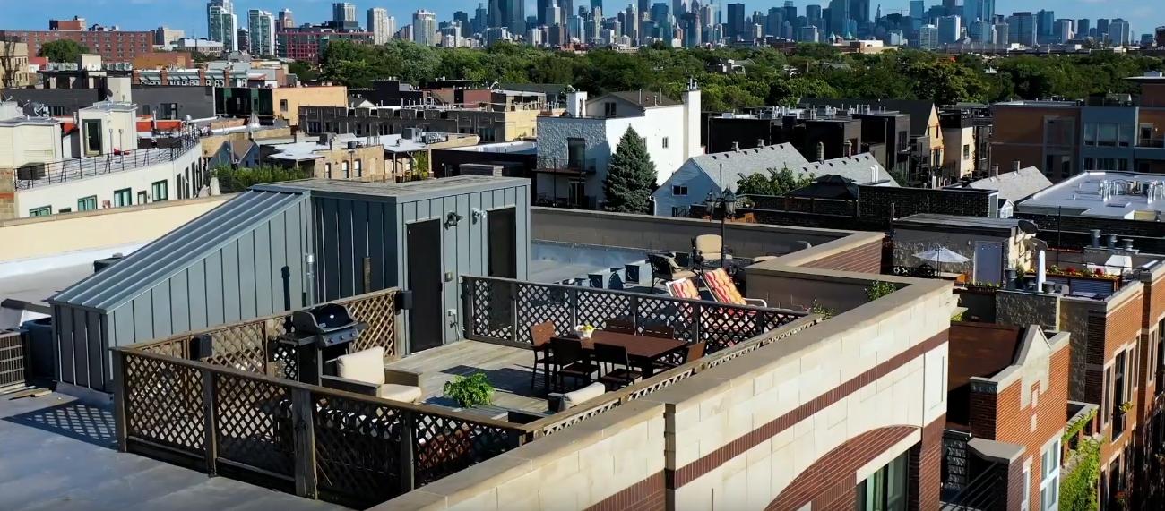 Penthouse Interior Design Tour vs. 2835 N Lakewood #5B Chicago | 3BD/2.1BA Penthouse Condo For Sale $929,900