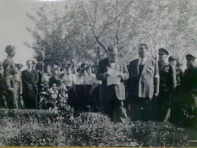Ο Γεώργιος Κανδηλάπτης στο μνημόσυνο του γιου του Θεόδωρου