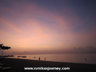 honeymoon di bali melihat sunrise