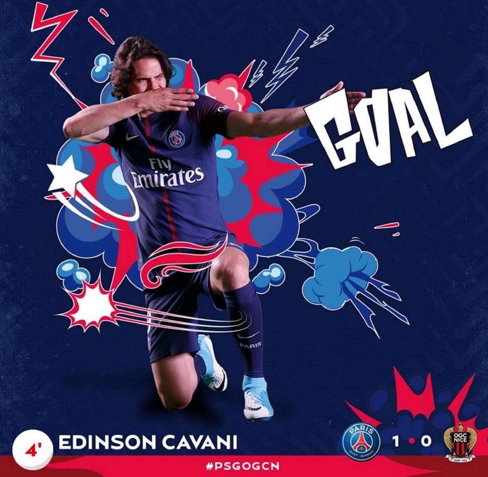 EDINSON CAVANI 8
