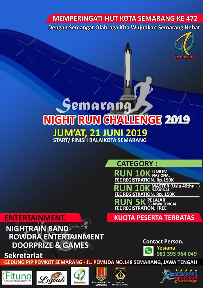 Semarang Night Run Challenge • 2019