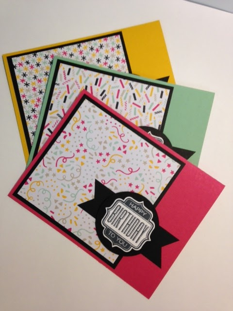 My Creative Corner A Tag Talk Stamp A Stack Birthday Card