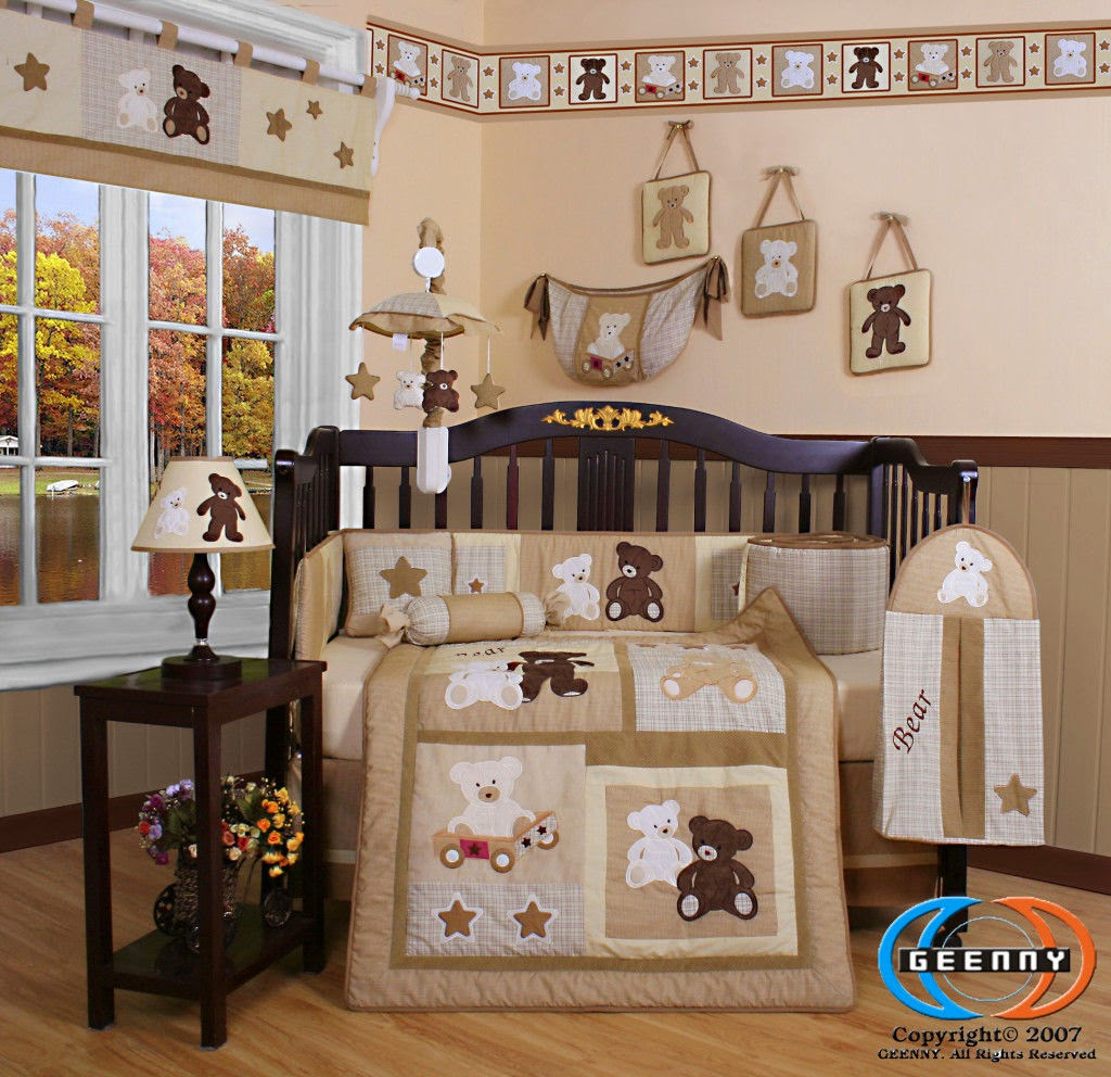 Baby Room Ideas Nursery Themes And Decor: LENCERIA IMPORTADA PARA CUNA BEBE 13 PIEZAS