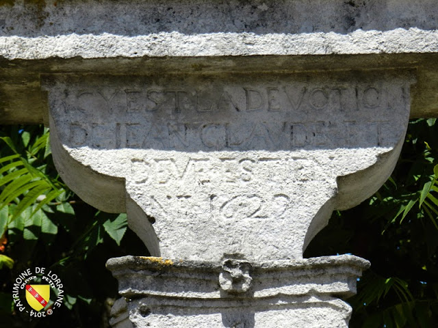 CIRCOURT-SUR-MOUZON (88) - Croix-calvaire (1622)