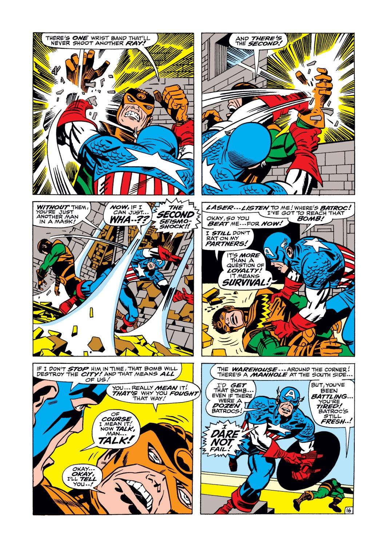 Read online Captain America (1968) comic -  Issue #105 - 17