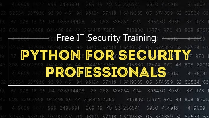 Python for Security Professionals: Free IT Security Training