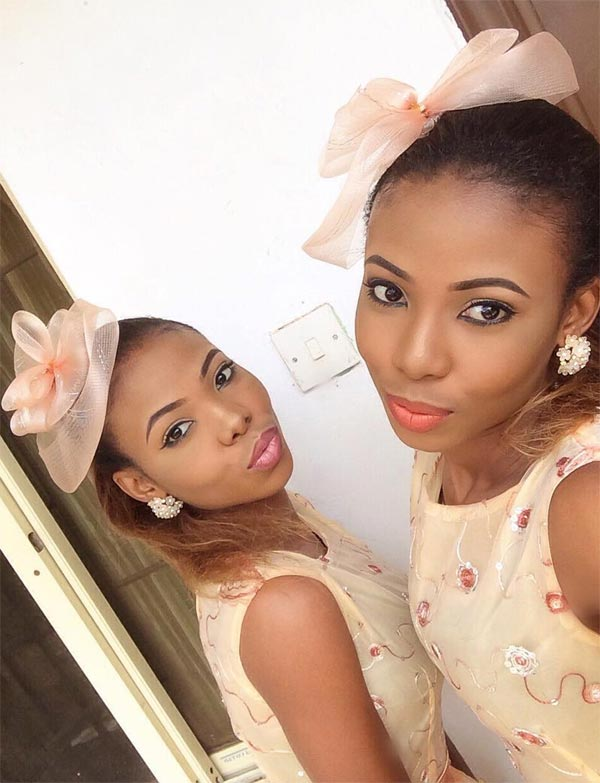 Aww! See cute pictures of Nigerian twins Taye and Kehney Odenusi