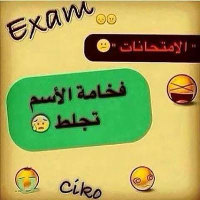 صور عن الامتحانات