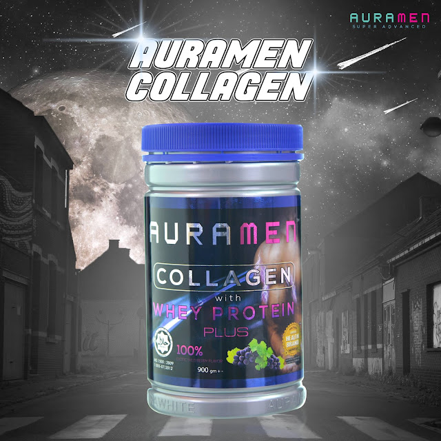 Betul Ke Auramen Turbo Collagen Boleh Bina Badan?