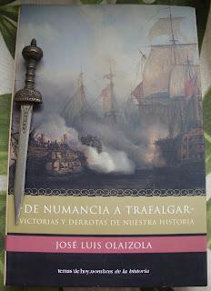 Portada del libro De Numancia a Trafalgar, de José Luis Olaizola