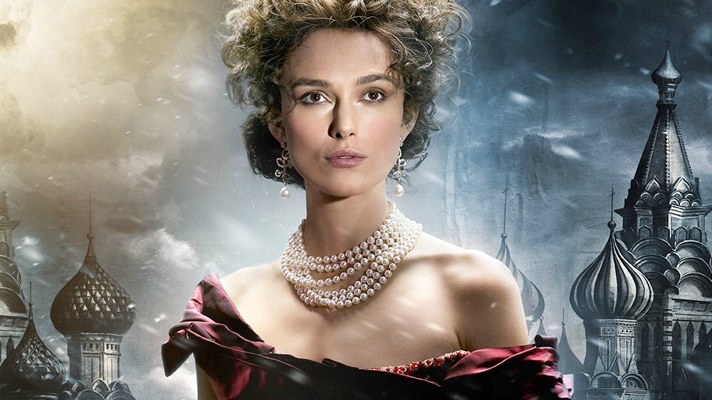 Character Poster for 'Anna Karenina' starring Keira Knightley