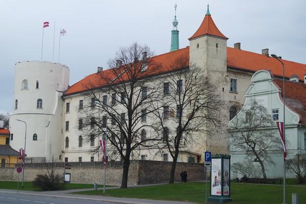 riga vieille ville old town château