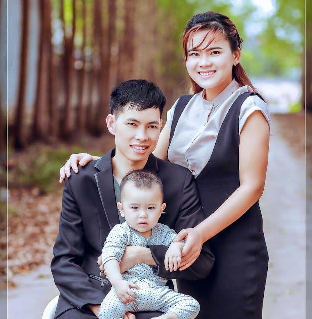 Hạnh phúc của vợ chồng Hà Anh Mến