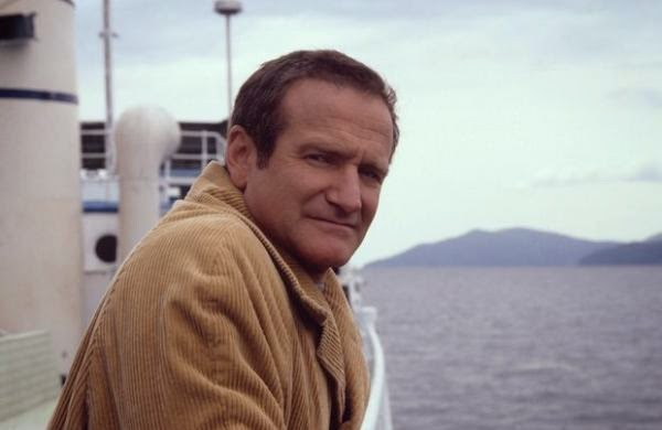 Robin Williams in Insomnia, directed by Christopher Nolan